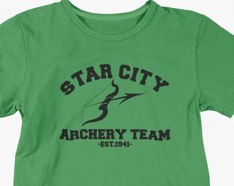UNISEX or LADIES FIT Official DC COMICS CW ARROW The Emerald Archer T-Shirt