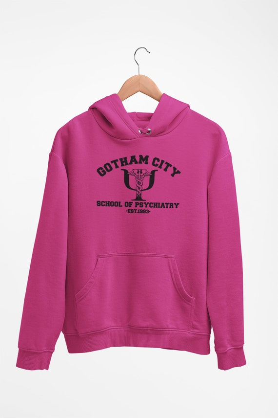 Suicide Squad Hoodie Harley Quinn Suicide Academy Hoodie Inspired Design
