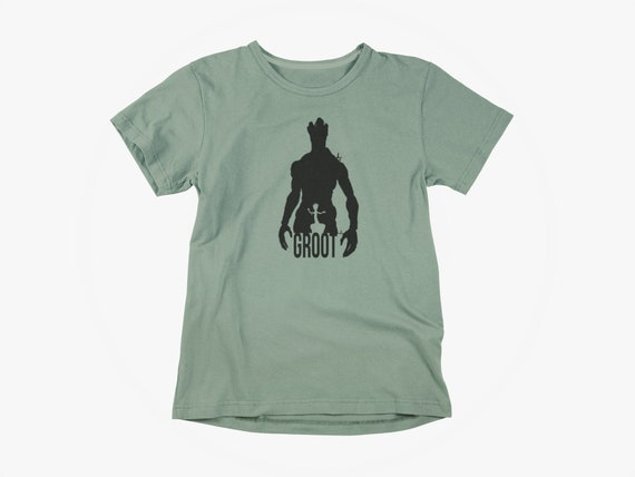 NOVA CORPS KIDS CHILDRENS T SHIRT GUARDIANS DESIGN OF THE GALAXY GROOT