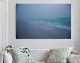 Foggy Ocean, Foggy Ocean Art, Wall Art, Home Decor, Ocean Wall Art, Fog Wall Art, Landscape Print