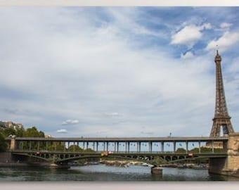Eiffel Tower, Landscape Photo, Home Decor, Wall Art, Paris Landscape,