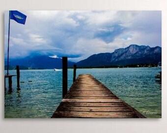 Lake Mondsee, Austria Lake, Mondsee Austria, Digital Download, Mountain Lake