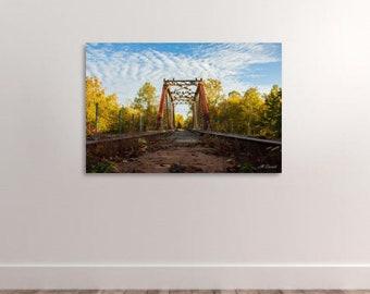 Train Tracks, Railroad Tracks, Railway, Railroad, Digital Download, Railroad Bridge, Train Trestle, Railway Bridge