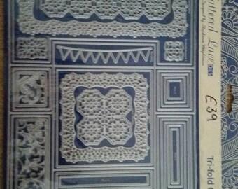 Tattered Lace Tri-Fold Card Dies