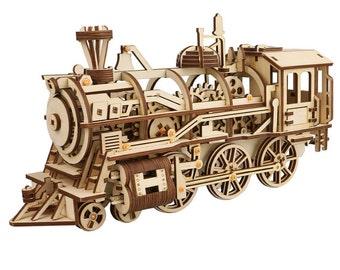 Locomotive Model Kit Etsy