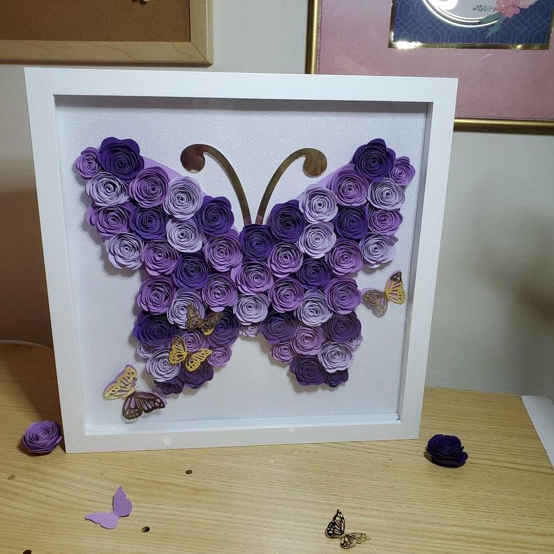 Butterfly Paper Flower
