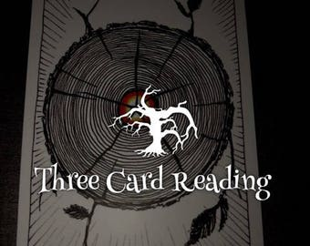 Three Card (Past, Present, Future) Tarot Reading