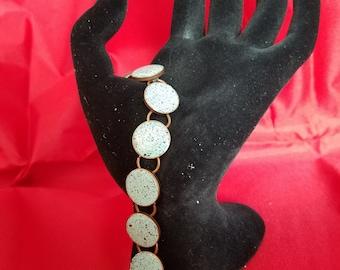 Turquoise Resin Bracelet