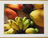 Limited edition tropical fruit colour photograph