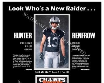 0ae0411f3 Raiders Nab Hunter Renfrow in the 2019 NFL Draft 13