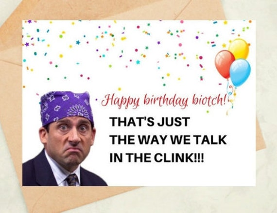 The Office Birthday Card Michael Scott Quotes Tv Show