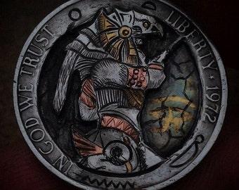 Coin art | Etsy