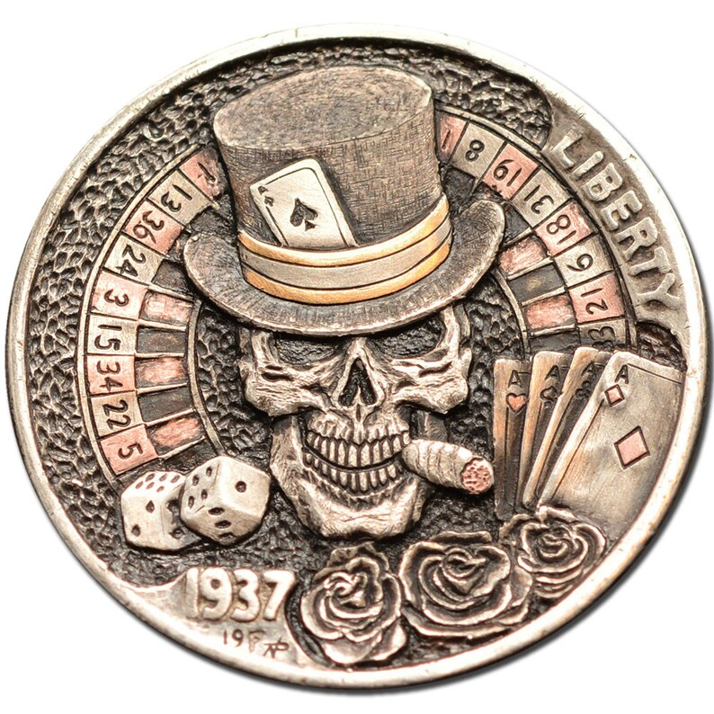 Hobo Nickel Coin 1937