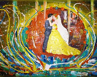 Magical painting brings love, marriage