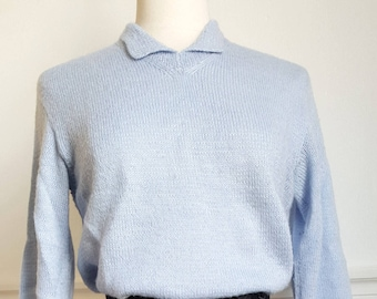 Blue sweater 50's