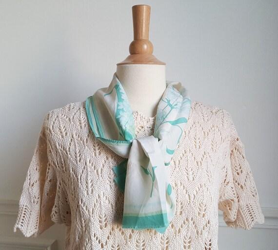 Vintage 60s Jean Dessés foulard