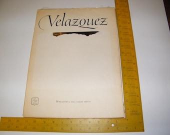 Book of Diego Velazquez Art Prints for Framing