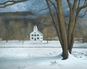 Vermont Church - Glicee a...