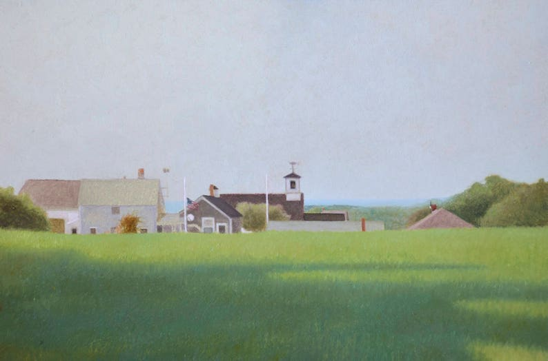 Summer Island  Giclee archival print signed by the artist. image 0