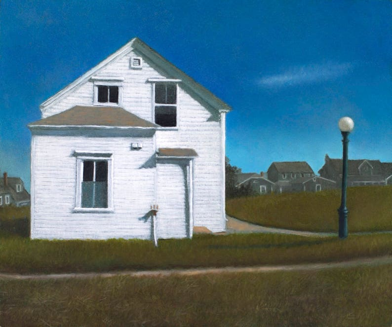 Rose Cottage  Giclee archival print signed by the artist. image 0