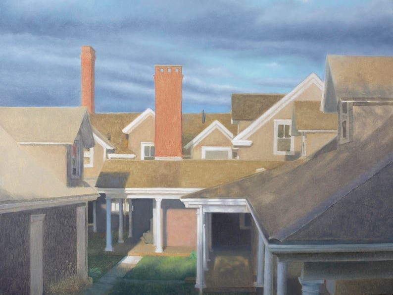 Avalon Roofline no. 2  Giclee archival print signed by the image 0