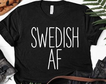 d6884fb1 SWEDISH T SHIRT Funny Sweden Pride Gift Swedish Dad Tshirt Best Friend Tee