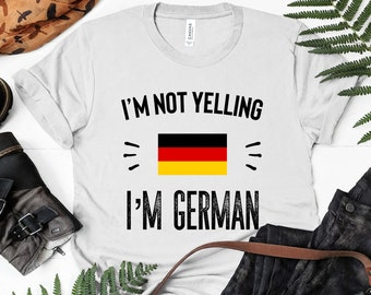 2ec499ddb2 GERMAN T SHIRT Funny Germany Gifts German Pride Tshirt Tee