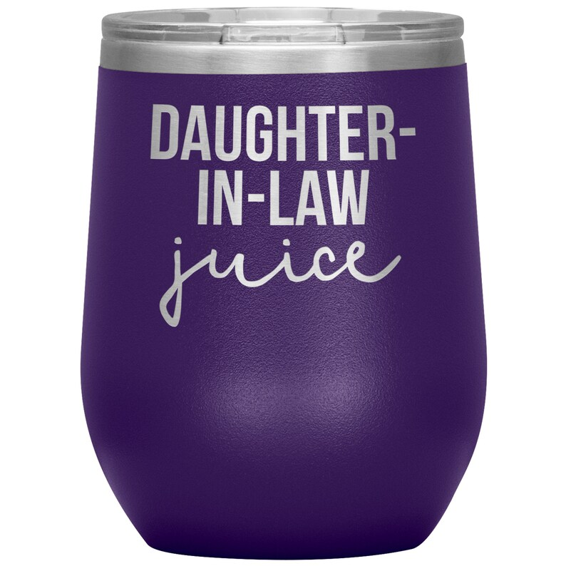 Travel Wine Cup Daughter in Law Wine Tumbler Daughter in Law Gifts Birthday Gifts for Men and Women