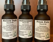 Botanical Beard Oils...