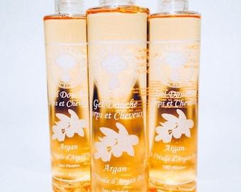 The oil of organic Argan 250 ml shower gel