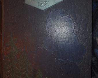 "1931 "" blue book""brooklyn preparatory high school yearbook- brooklyn new york"