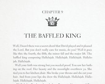 The Baffled King