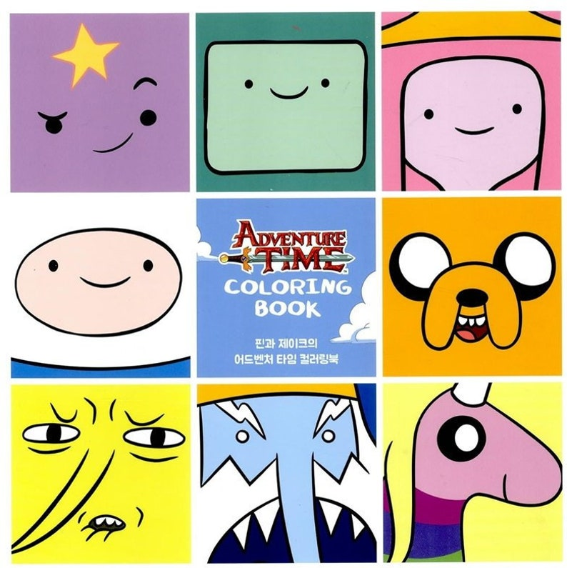 Adventure Time Coloring Book By Cartoon Network Enterprises