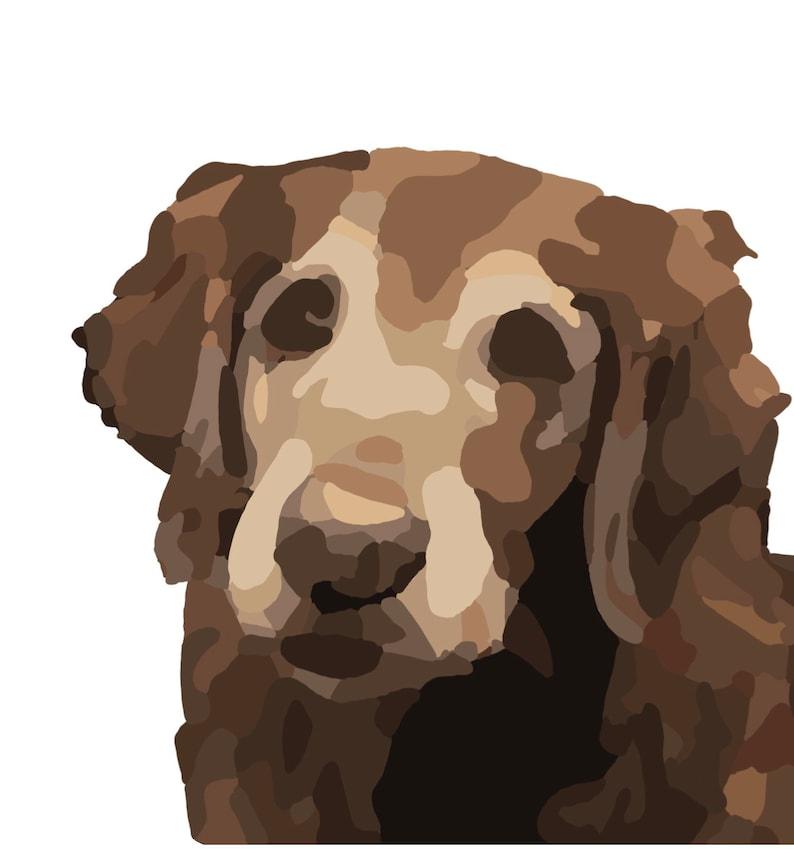 Customized Digital Animal Illustration