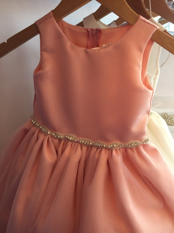 f5f1e32aa6 Blush Pink Flower Girl Dress Can be made in various colors