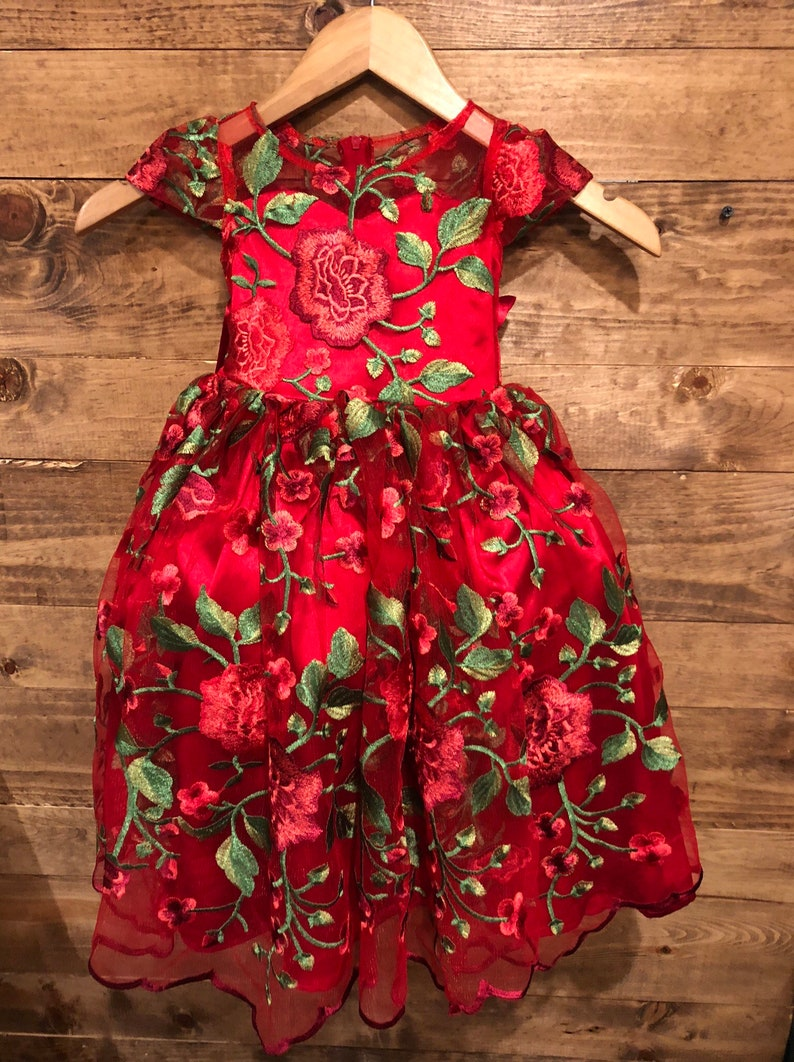Red Presentation Dress