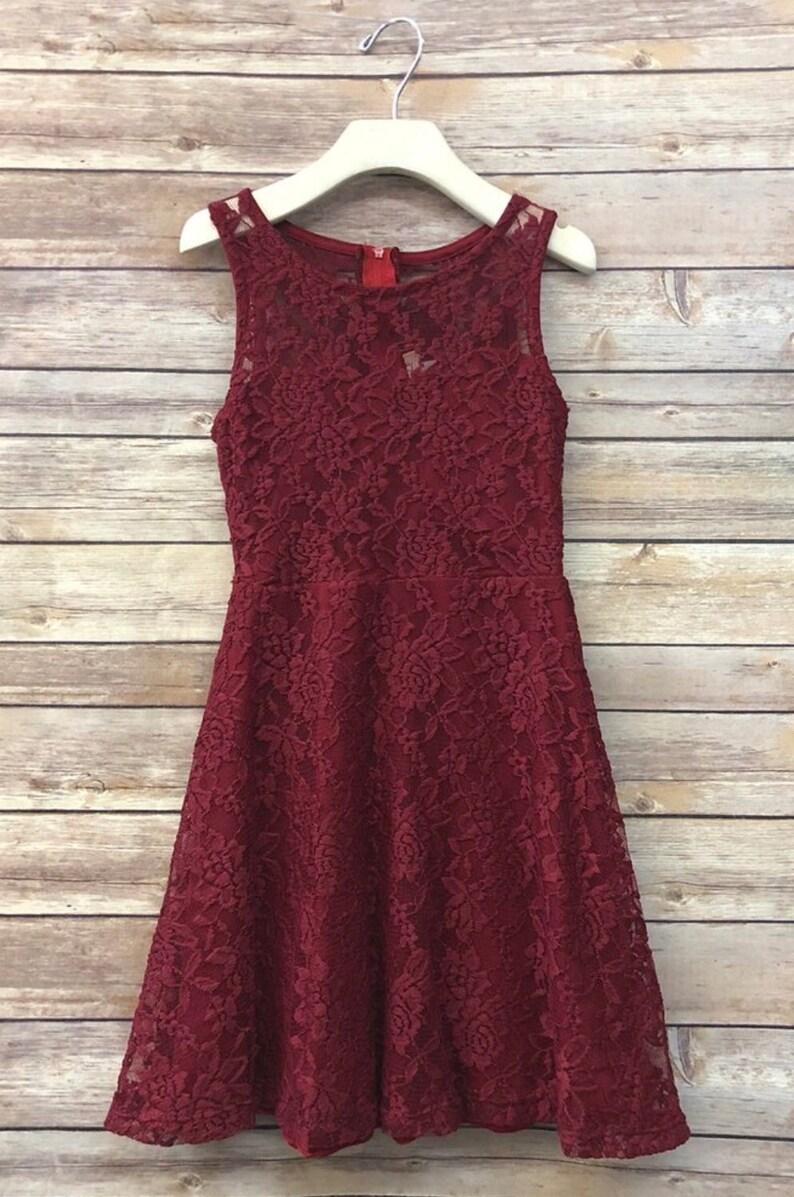 ffdb4e31cb18 Claire Dress teen lace dress homecoming wedding guest jr