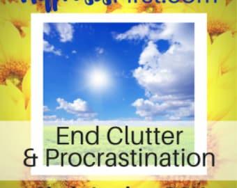 End Clutter & Procrastination Hypnosis MP3