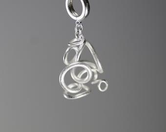 minimalist earrings - stud earrings - silver earrings - drop earrings - handmade jewelry - minimalist jewelry - unique jewelry