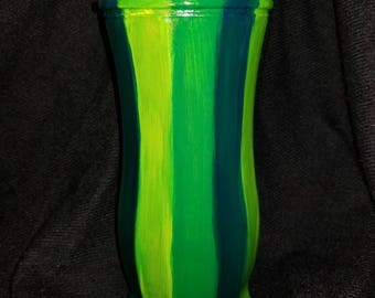 Beautiful Hand painted one of a kind Vase