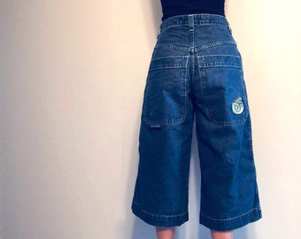89fe197c62 Vintage JNCO Jeans, classic edition JNCO twin cannon jeans, 90s girl skater  jeans?