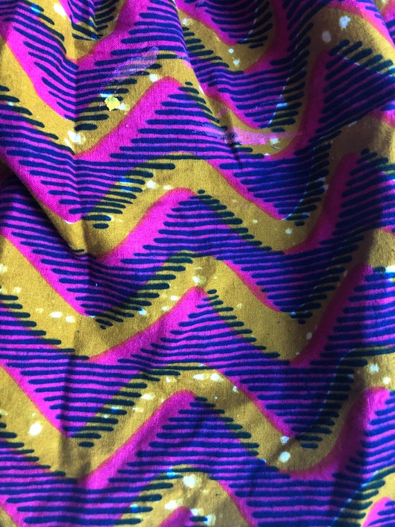 African patchwork dress XS - image 8
