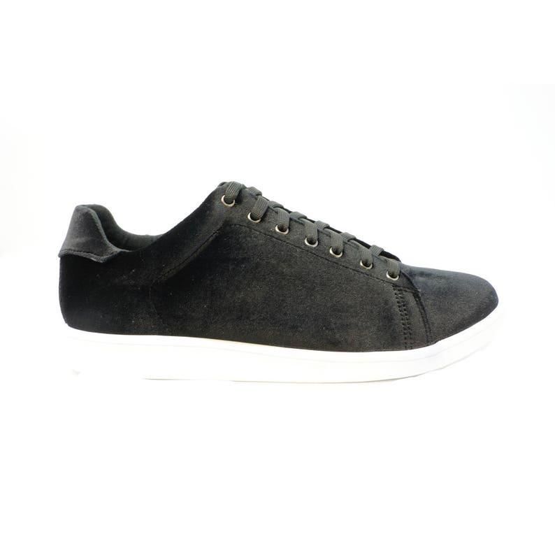 Futoli Artisan Unique Fashion Sneakers Trendy Suede