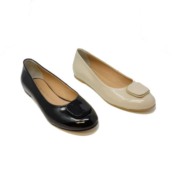 Futoli Handmade 100/% Genuine Leather Artisan Unique Work Low Heeled Shoes