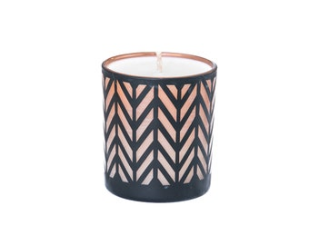 Hand Poured Soy Candle - Black Jar