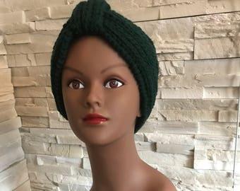 The Pine Green Headband