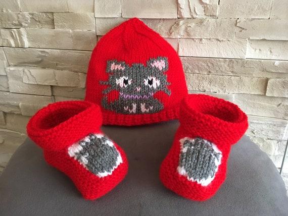 Bonnet chaussons Etsy