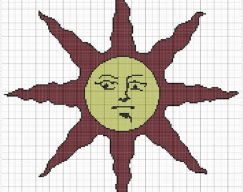 Solaire's Crest Graphghan Pattern