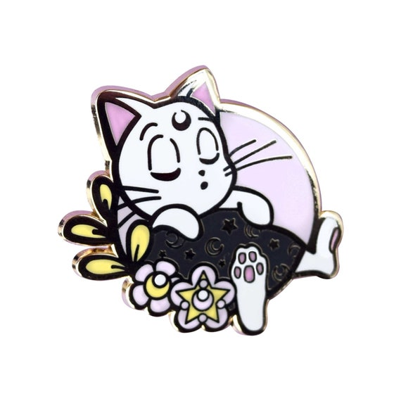 Sailor Meow Kitty Hard Enamel Pin