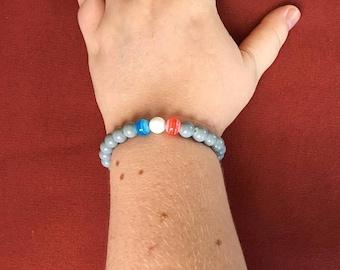 Red white and blue bracelet!